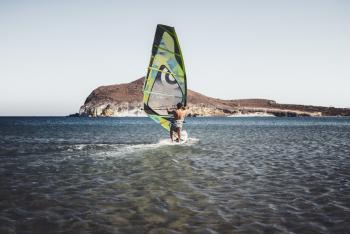 Windsurfing package for beginners